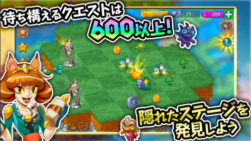 海外ゲームアプリ「Merge Dragons!」