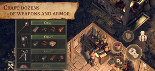 おすすめサバイバルゲームアプリ「Grim Soul: Dark Fantasy Survival」